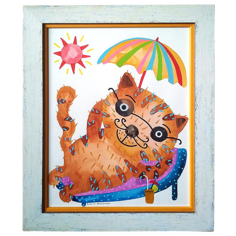 Brančovský Rudolf |38,5x48,5 cm (Zarámovaný obraz)