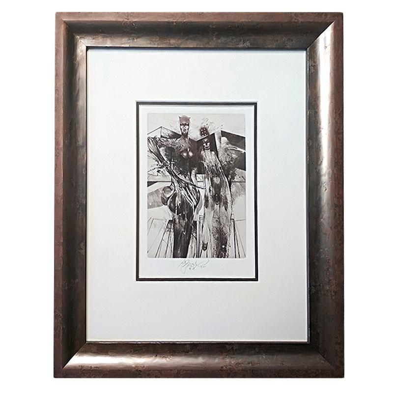 Brázda | 36x42,5 cm (Zarámovaný obraz)