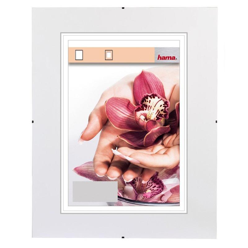Hama clip-Fix, antireflexní sklo, 9x13cm
