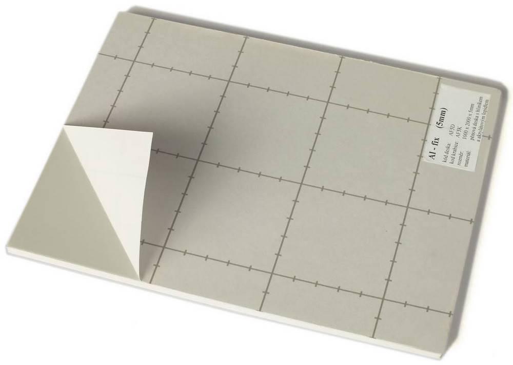 AF5D   Al-Fix (deska) s ALU samolep.