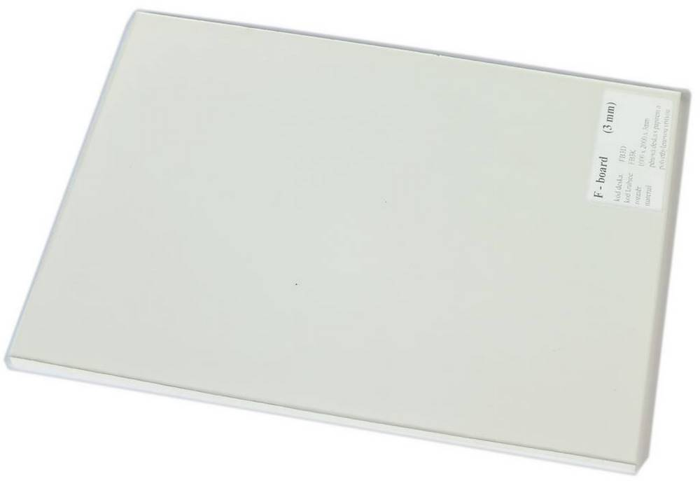 FB3K | F-BOARD 3 mm krabice polyethyl