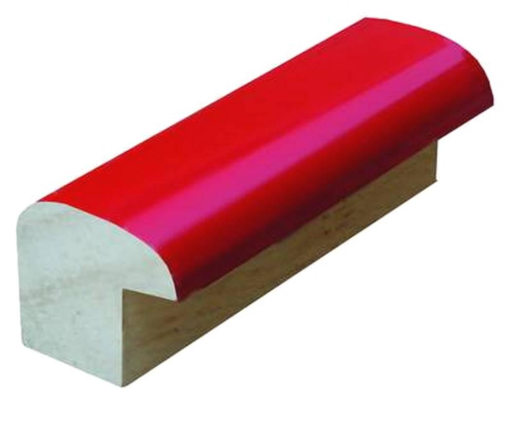 1816 | vyřazeno - Kostička lesklá červená (3m)
