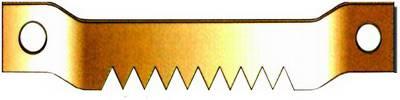 H2 | Háček zubatý na šroubky