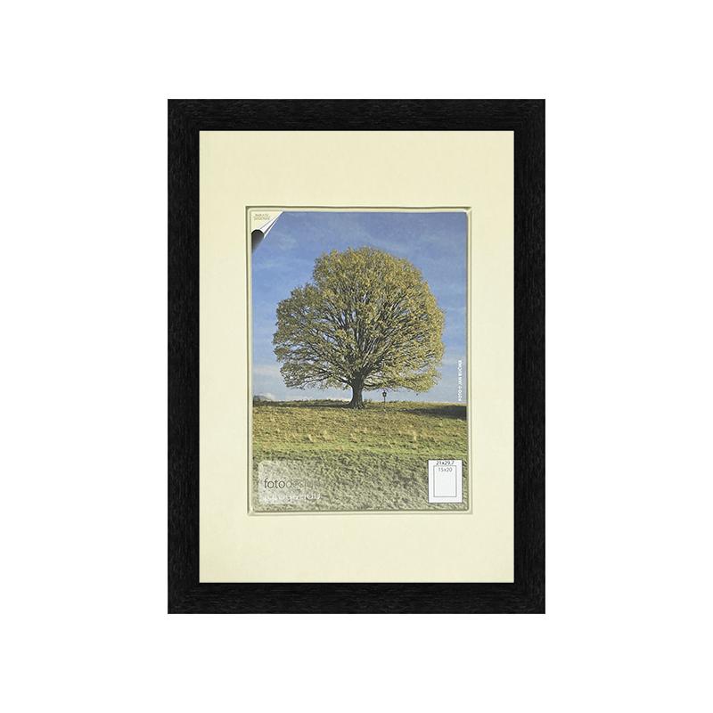 40x60 | Rámeček Kiel černá SKLO čiré [BN] (Vyberte si formát)