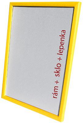 Dantik, Rámeček na fotky A4 - (Kostička žlutá)