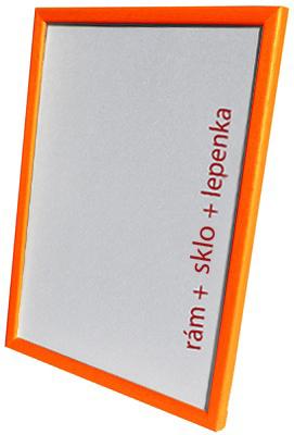 Dantik, Rámeček na fotky A4 - (Kostička oranžová)