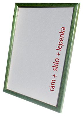 Dantik, Rámeček na fotky A4 - (Kostička zelená)
