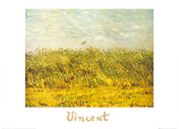 70 x 50 / The wheat field ( Van Gogh Vincent )