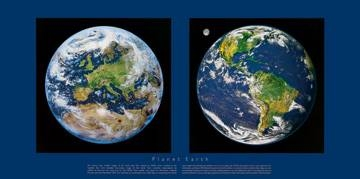 Reprodukce obrazu 101 x 50 / Planet Earth ( Liby )