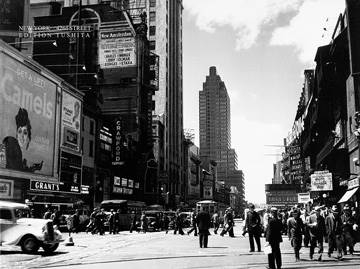 Reprodukce obrazu 80 x 60 / New York, 42nd Street ( Liby )