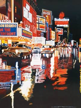 Reprodukce obrazu 60 x 80 / Broadway ( Bertrand Alain )