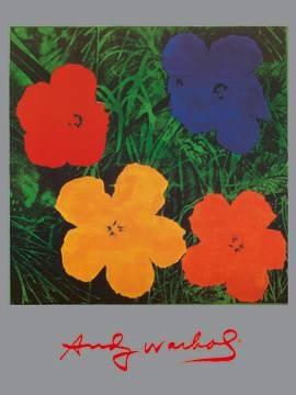 Reprodukce obrazu 60 x 80 / Flowers ( Warhol Andy )