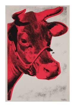 Reprodukce obrazu 70 x 100 / Cow 1976 ( Warhol Andy )