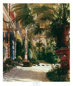 61x76 | The Palm House ( Blechen Karl )