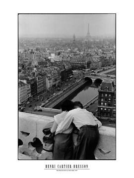60x80 | View from the Towers of N.D. ( Cartier-Bresson Henri )