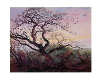 72x57 | Tree with Crows ( Friedrich Caspar David )