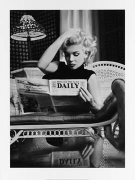 Reprodukce obrazu 60 x 80 / Marilyn Monroe, Motion Picture ( Feingersh Ed ) + záruka 3 roky