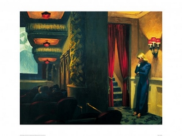 Reprodukce obrazu 80 x 60 / New York Movie, 1939 ( Hopper Edward )