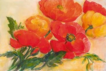 100 x 70 / Splendid Poppies ( Krobs Elisabeth )