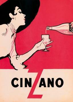 Reprodukce obrazu 50 x 70 / Cinzano ( Ernest )
