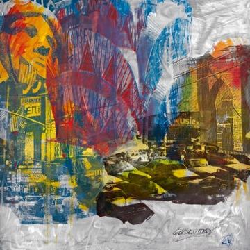Reprodukce obrazu 70 x 70 / Sunset ( Guldenstern )