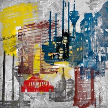 Reprodukce obrazu 70 x 70 / Fenster ( Guldenstern ) + záruka 3 roky