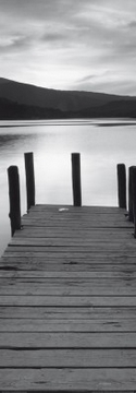 33 x 95 / Sunset with Wooden Jetty ( Granville Harris )