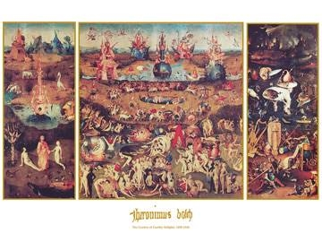 80x60 | Garden of earthly Delight ( Bosch Hieronymus )