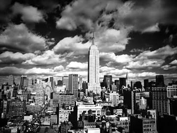 Reprodukce obrazu 80 x 60 / Sky over Manhattan ( Silberman Henri )