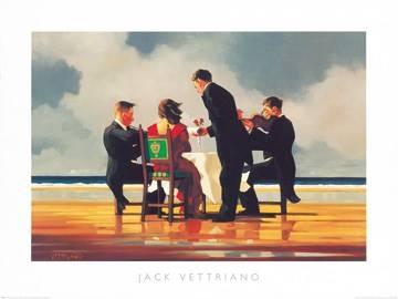 Reprodukce obrazu 80 x 60 / Elegy for The Dead Admiral ( Vettriano Jack )