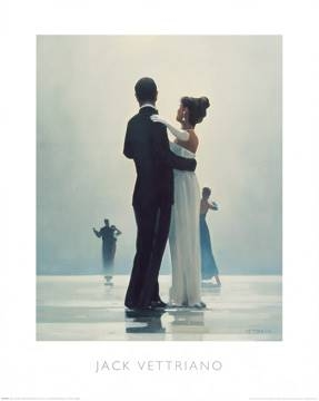 Reprodukce obrazu 40 x 50 / Dance me to the End of Love ( Vettriano Jack )