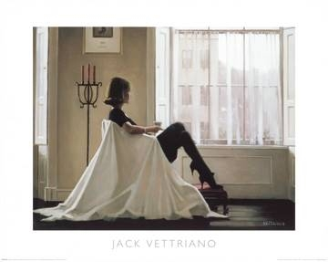 Reprodukce obrazu 50 x 40 / In Thoughts of You ( Vettriano Jack )