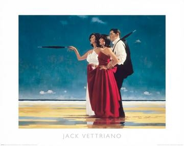 Reprodukce obrazu 50 x 40 / The Missing Man I ( Vettriano Jack )