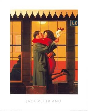Reprodukce obrazu 60 x 80 / Back Where You Belong ( Vettriano Jack )
