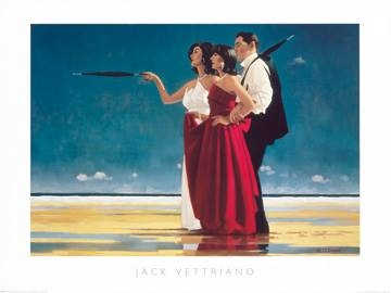 Reprodukce obrazu 80 x 60 / The Missing Man I ( Vettriano Jack )