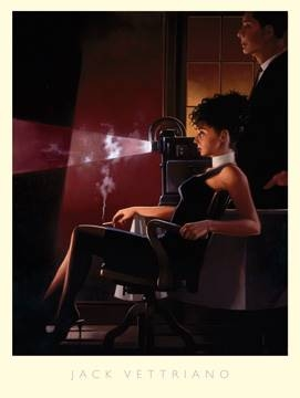 Reprodukce obrazu 60 x 80 / An Imperfect Past ( Vettriano Jack )