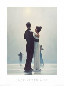 Reprodukce obrazu 60 x 80 / Dance Me to the End of Love ( Vettriano Jack )