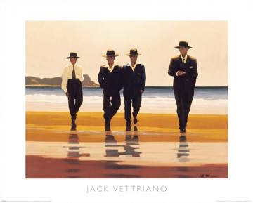 Reprodukce obrazu 50 x 40 / The Billy Boys ( Vettriano Jack )