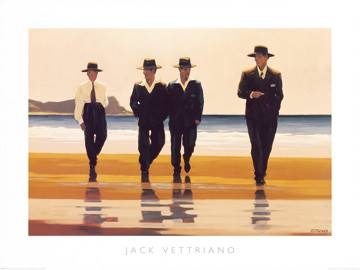 Reprodukce obrazu 80 x 60 / The Billy Boys ( Vettriano Jack )