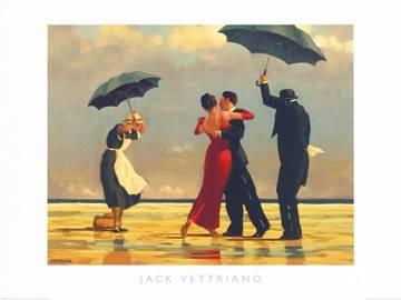 Reprodukce obrazu 80 x 60 / The Singing Butler ( Vettriano Jack )