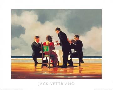 Reprodukce obrazu 50 x 40 / Elegy for The Dead Admiral ( Vettriano Jack )