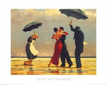 Reprodukce obrazu 50 x 40 / The Singing Butler ( Vettriano Jack )