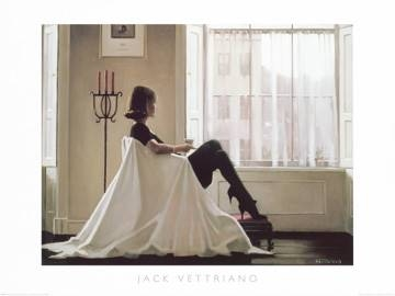 Reprodukce obrazu 80 x 60 / In Thoughts of You ( Vettriano Jack )