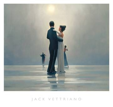 Reprodukce obrazu 72 x 68 / Dance me to the End of Love ( Vettriano Jack )