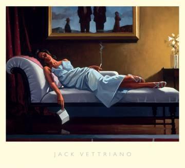 Reprodukce obrazu 76 x 68 / The Letter ( Vettriano Jack )
