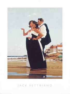 Reprodukce obrazu 60 x 80 / The Missing man II ( Vettriano Jack )