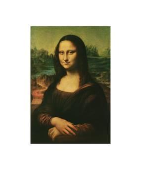 Reprodukce obrazu 56 x 68 / Mona Lisa ( Da Vinci Leonardo ) + záruka 3 roky