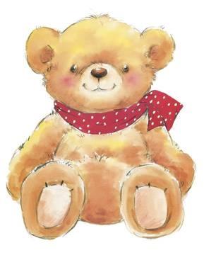 Reprodukce obrazu 24 x 30 / Teddy ( Makiko ) + záruka 3 roky