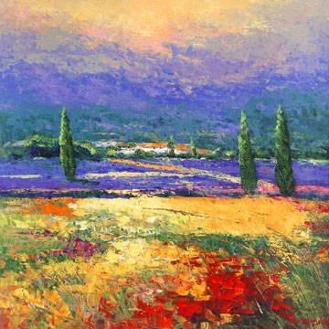 Reprodukce obrazu 70 x 70 / Provence II ( Madjid )
