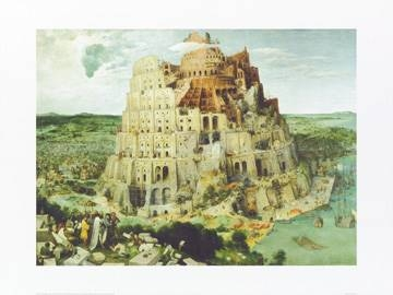 80x60 | The Tower of Babel, 1563 ( Brueghel Pieter d. Ä. )